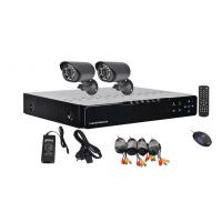 1/4 CMOS  AHD DVR 2 Camera Security System For Home , 1.0 Megapixel Camera Manufactures