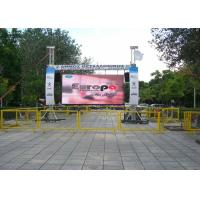 China Waterproof Digital Outdoor LED Signs PH25 25mm Outdoor LED Electronic Signs on sale