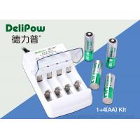 China ROHS / UL / CE ApprovedAA Rechargeable Battery Kit 4 2800mAh on sale