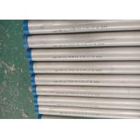 Round Austenitic Stainless Steel Pipe Customized Thickness For Surgical Instrument Manufactures