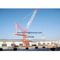 8 Tons D120 45M Boom Luffing Tower Cranes Construction Building Cranes Manufactures