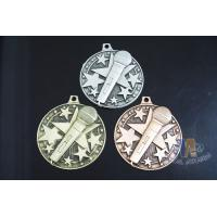 Die Casting Custom Metal Engraved Music Medals, 3D Design With Gold Silver Copper Plating Manufactures