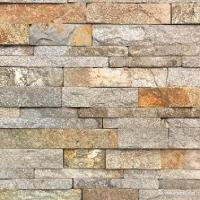 Natural stone , Granite Stacked Stone Red Granite Stone Wall Ledge Cladding Manufactures
