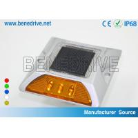 Passive Solar Road Studs 3 Pcs LEDs Reflective Highway Markers Manufactures