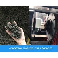 PP PE Plastic Recycling Machine Film Squeezing Dewatering Dryer And Pelletizing Machine Manufactures