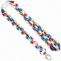 ECO Felt Sublimation Lanyards, 15mm Wide Manufactures