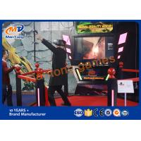 Theme Park Simulator Virtual Reality Games With CE / SGS Certificate Manufactures