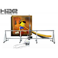 Innovative Wall Decor UV 3D Picture Printing Machine For Glass Manufactures