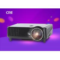 Native 800X480 Home Entertainment Projector 5.0 Inch Single LCD Projection System Manufactures