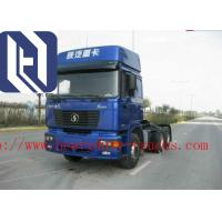 White Color Prime Mover Truck , HOWO 6x4 Cargo Truck Diesel Fuel Type Manufactures