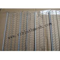 610mm width Galvanized Rib Lath Mesh 1-3m Length 0.3mm Thickness Manufactures