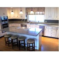 Buy cheap Spain Azul Platino Granite Stone Slab Countertop Speckled Stone Slab Kitchen from wholesalers