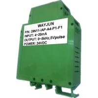 Buy cheap 3000V isolation 4-20mA to 1-5KHz Signal Isolated Transmitter DIN35 signal from wholesalers