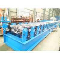 China Steel Metal Roof Panel Roll Forming Machine 75mm Shaft Diameter 14000*1550*1550mm Size on sale