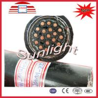 China Fire Resistant Coaxial Cable With Brass Tape Screen For Construction on sale