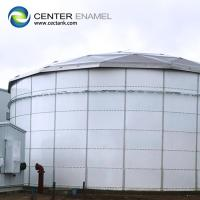 China 100000 / 100k Gallon Bolted Steel Dry Bulk Storage Tanks For Grain Storage on sale