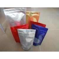 Custom PET / PA/AL / PE / LDPE Stand up Ziplock Mylar Food Plastic Pouches Packaging Manufactures