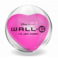 Buy cheap Transparent Inflatable Beach Ball With Pink Heart Inside For Promotion &Gift from wholesalers