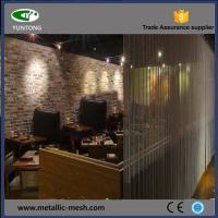Decorative metal curtain for room divider Manufactures
