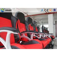 Interactive Motion Theater Chair 4d Cinema Seating With High-Ene Pu Manufactures
