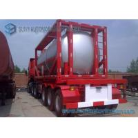 51.5 cbm 40 Feet 16MnDR LPG Tank Container Transport Semi Trailer Manufactures