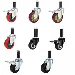 Rubber expander caster,rubber sleeve caster wheel,medium duty castor wheel,rubber caster wheel,Anti static caster, Manufactures