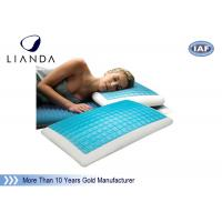 Memory Foam & Hydraluxe Cooling Contour Pillow , gel cooled pillow Manufactures