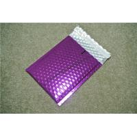 Antistatic Metallic Pink Bubble Mailers , Bubble Wrap Bags 135x210 #-AC Manufactures