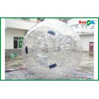 Gaint Tranparent Inflatable Zorb Ball 2.3x1.6m Human Hamster Ball Manufactures