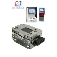 China Tamper-Proof IC Motorized Card Reader With RS 232 / USB Interface DC 24V on sale