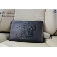 China Armani AJ Black Men Holder Purse With Hand Strap Top Quality Bags on sale