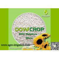 DOWCROP HIGH QUALITY 100% WATER SOLUBLE MONO SULPHATE ZINC 33% WHITE GRANULAR MICRO NUTRIENTS FERTILIZER Manufactures