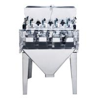 High Accuracy 4 Head Linear Weigher Machine 0.5L And 3L Hopper Volume Type Manufactures