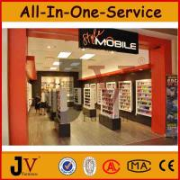 China Top quality famous brand mobile phone accessories display cabinet on sale