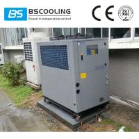 CE certificated 6 tons small air cooled chillers for plastic and injection mould Manufactures