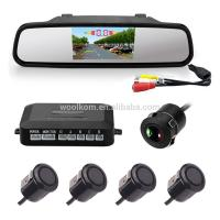 """4.3"""" LCD Monitor Car Reverse Rear View Back Up Camera Wireless Kit Night Vision Manufactures"""
