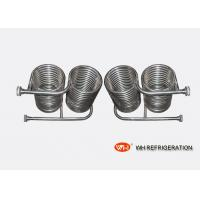 Buy cheap Stainless Steel Immersion Coil Type Heat Exchanger For Seawater Heat Transfer from wholesalers
