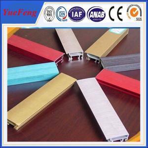 colorful aluminum building material,industrial/decorative aluminum profile extrusion Manufactures