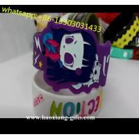 China wholesale OEM letter printed silicone  bracelet cheap custom silicone wristband on sale
