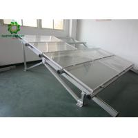 Easy Installation Ground Mount Solar Racking Systems Exclusive Pre - Assembled Design Manufactures