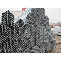 Quality Steel ERW Hot-dip Galvanized Pipe , ASTM / BS Round Steel Pipes for sale