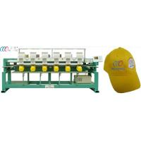 "6 Head 9 Needle Tubular Embroidery Machine With Dahao 5"" LCD Monitor Manufactures"