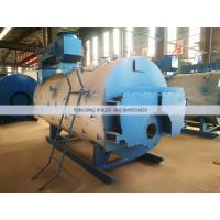 Perfect 4 Ton Natural Gas Fired Steam Boiler WNS 4-1.25-YQ  Industrial Fire Tube Manufactures