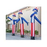 China Cartoon Design Inflatable Dancing Man , Advertising Air Tube Dancer on sale