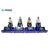 Theater VR Motorcycle Simulator High Headset Resolution 2160 X 1200 Smooth Images Manufactures
