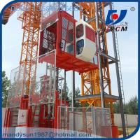 4000kg Building Hoist SC200/200 Frequency Construction Lift Equipment Manufactures