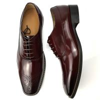 Cow Leather Lining and Double Leather Welt Men Office Dress Shoe Manufactures