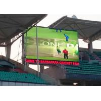 Energy Saving Largest Stadium Tv Screen , Outdoor Led Tv Display Rainproof Manufactures