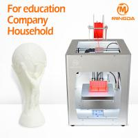 1.75 mm PLA desktop 3d printing machine for school , single nozzle 0.4 mm Manufactures