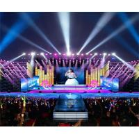 Commercial LED Screens Indoor LED Billboard P4.81 Rental LED Panel 1920Hz cabinet 500x1000mm Manufactures